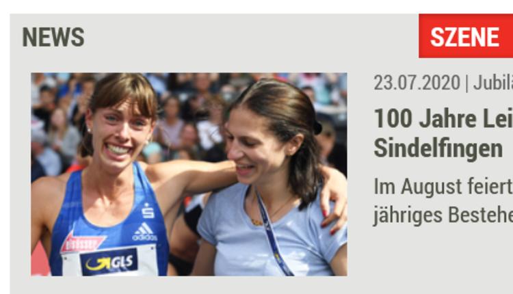 Leichtathletik.de: 100 Jahre Leichtathletik im VfL Sindelfingen