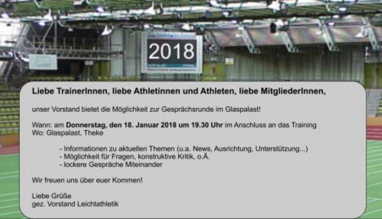 Einladung zum Dialog am 18.01.