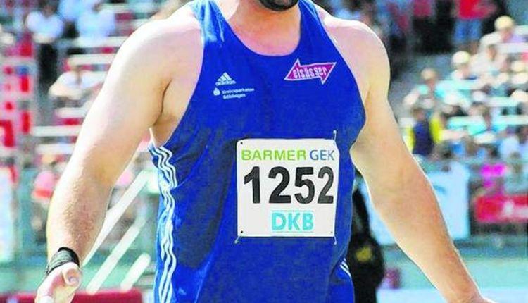Tobias Dahm nähert sich der 20-Meter-Marke