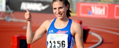 Nadine Hildebrand läuft PB