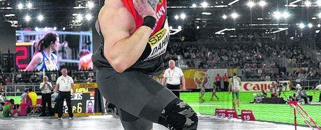 Tobias Dahm überzeugt bei der Hallen-WM