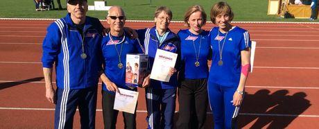 13 ist die Glückszahl für VfL Leichtathletik-Senioren