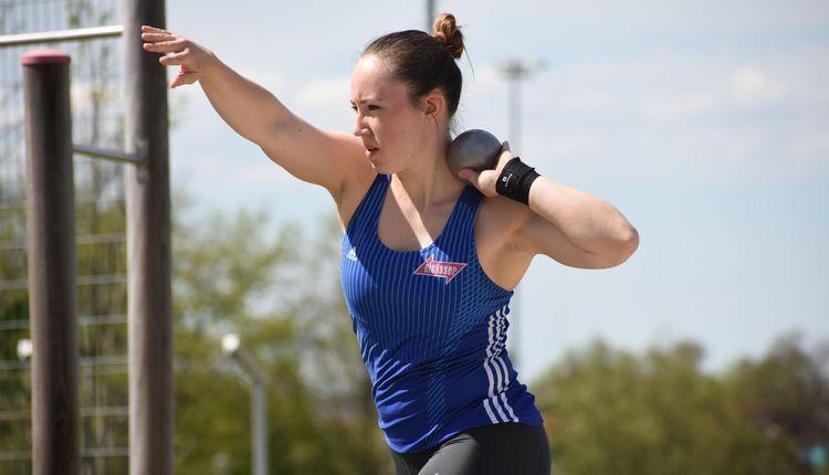 Lea Riedel trotzt allen sportlichen Rückschlägen