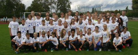 Rang 2 für den Leichtathletikkreis Böblingen