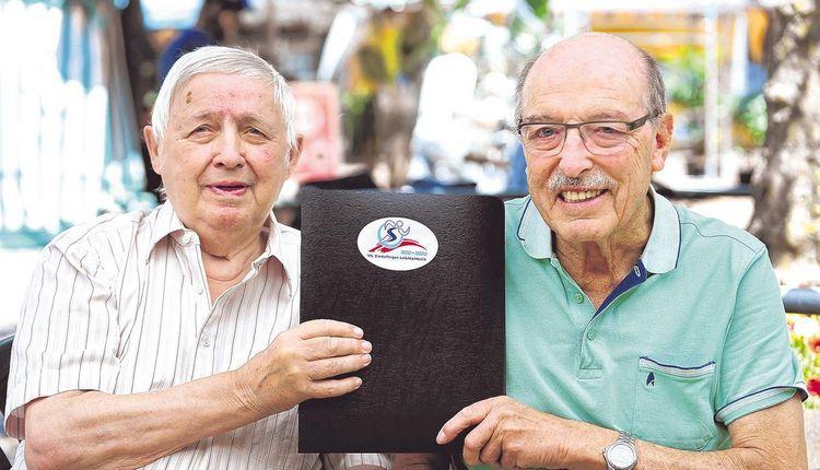 Weltrekordler auf der Gästeliste