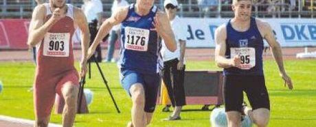 Johannes Wiesner läuft zu Silber