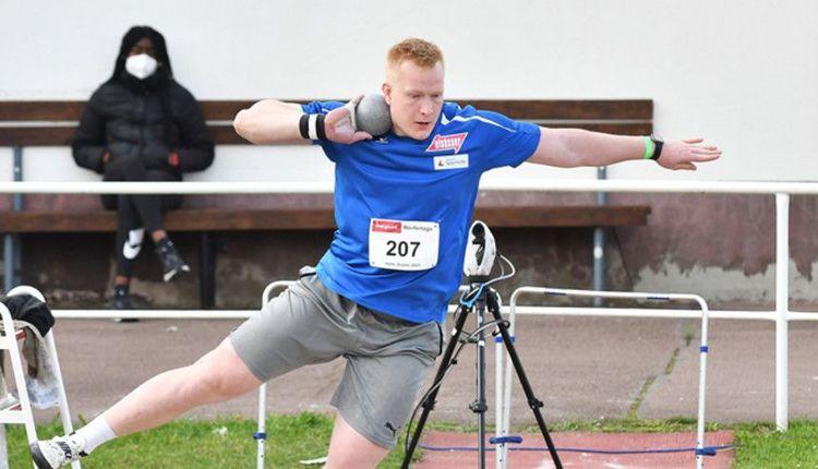 Unglaublich: Erik Maihöfer steigert sich auf 19,75 m