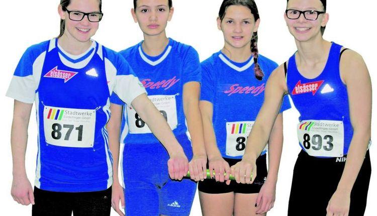 Vier VfL-Mädchen knacken den Rekord